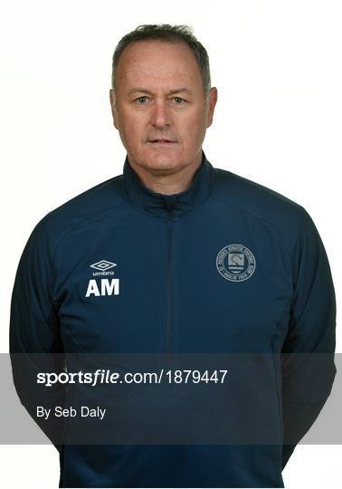 St. Patrick's Athletic Squad Portraits 2020