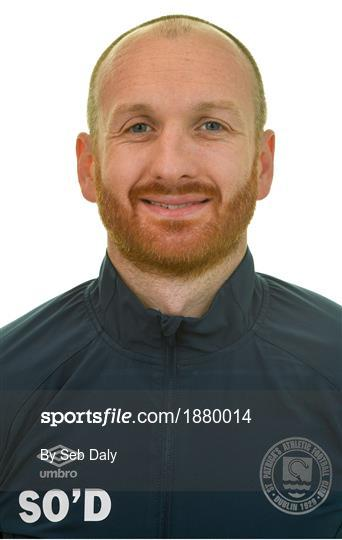 St. Patrick's Athletic Squad Portraits 2020