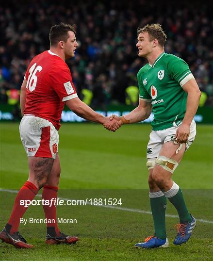 Ireland v Wales - Guinness Six Nations Rugby Championship
