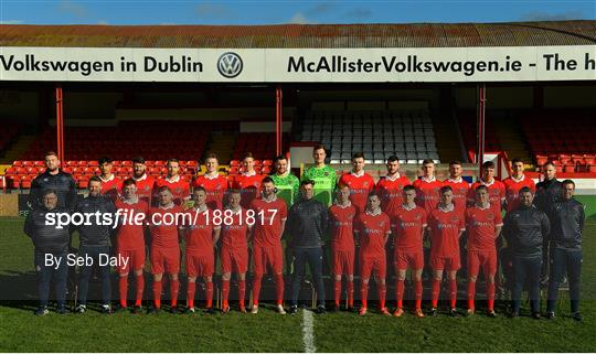Shelbourne Squad Portraits 2020