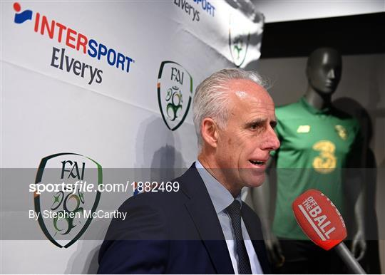 INTERSPORT Elverys FAI Summer Soccer Schools Title Sponorship Launch