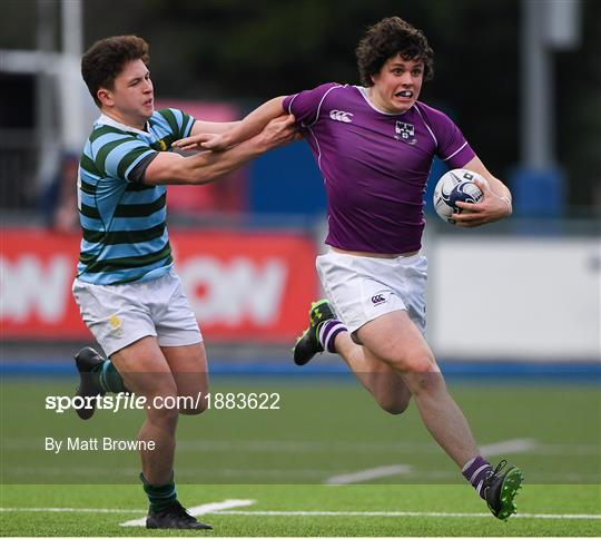Clongowes Wood College v St Gerards School - Bank of Ireland Leinster Schools Senior Cup Second Round