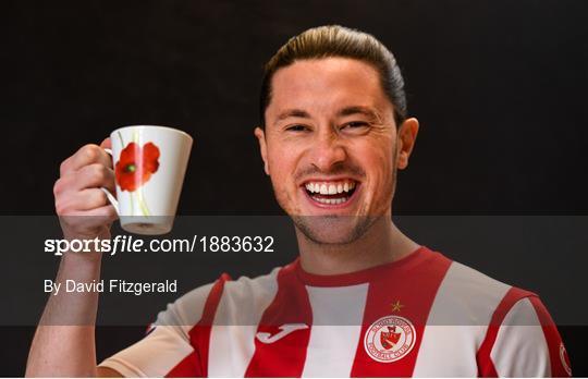 Sligo Rovers FC Squad Portraits 2020