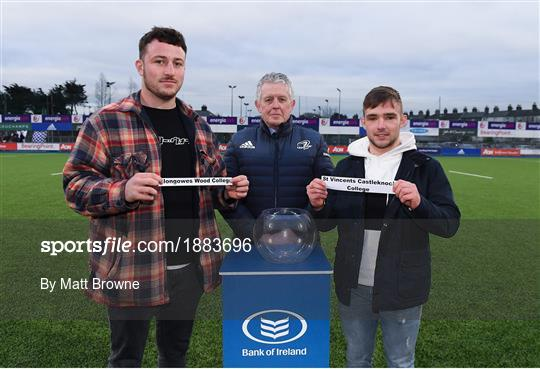 2020 Bank of Ireland Leinster Rugby Schools Senior Cup Semi-Final Draw