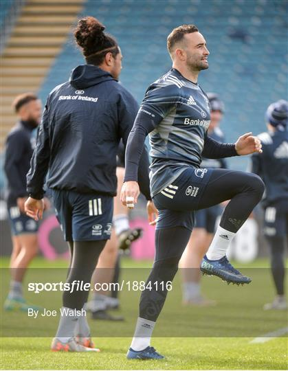 Leinster Rugby Captains Run and Press Conference