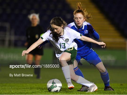 Republic of Ireland v Iceland - Women's Under-17s International Friendly