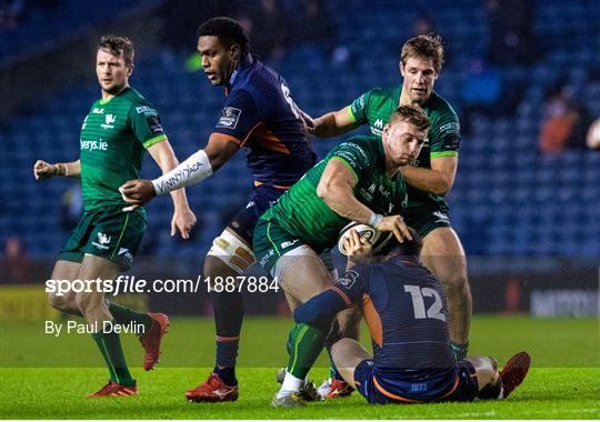 Edinburgh v Connacht - Guinness PRO14 Round 12