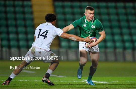 England v Ireland - Six Nations U20 Rugby Championship