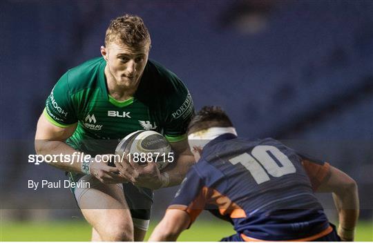 Edinburgh v Connacht - Guinness PRO14 Round 12