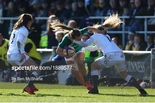England v Ireland - Women's Six Nations Rugby Championship