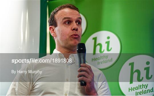 Kildare Sports Partnership 'Back to Basics' Seminar and Round 3 Healthy Ireland Launch