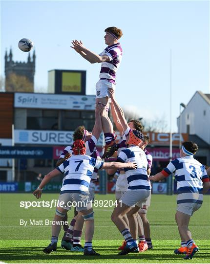 Blackrock College v Clongowes Wood College - Bank of Ireland Leinster Schools Junior Cup Second Round
