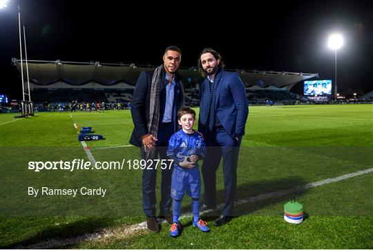 Mascots at Leinster v Glasgow Warriors - Guinness PRO14 Round 13