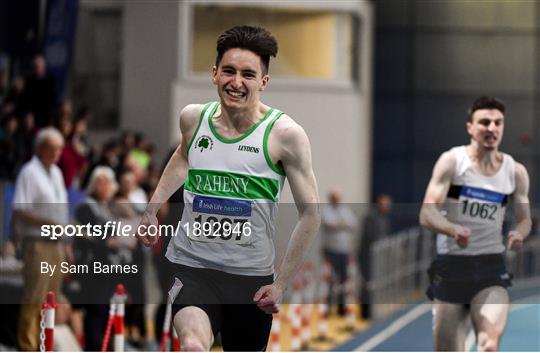 Irish Life Health National Senior Indoor Athletics Championships - Day One