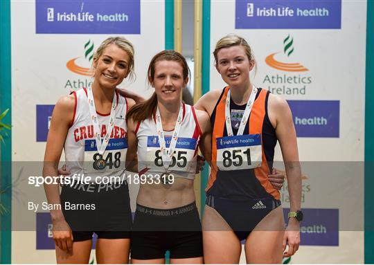 Irish Life Health National Senior Indoor Athletics Championships - Day One