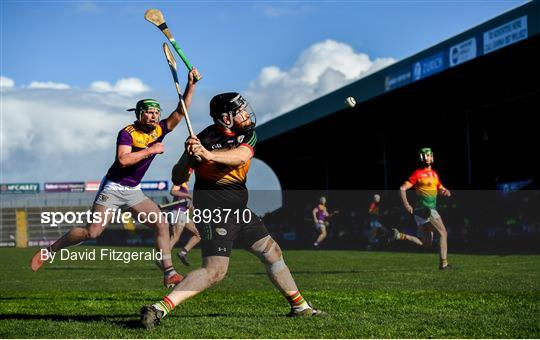 Wexford v Carlow - Allianz Hurling League Division 1 Group B Round 5