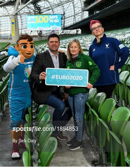 UEFA EURO 2020 marks 100 Days To Go Milestone