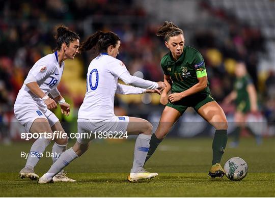 Republic of Ireland v Greece - UEFA Women's 2021 European Championships Qualifier