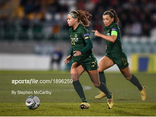 Republic of Ireland v Greece - UEFA Women's 2021 European Championships Qualifier