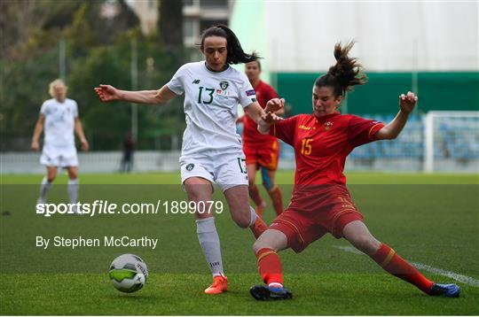 Montenegro v Republic of Ireland - UEFA Women's 2021 European Championships Qualifier