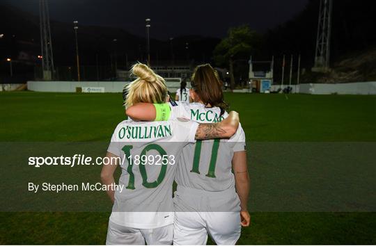 Montenegro v Republic of Ireland - UEFA Women's 2021 European Championships Qualifier