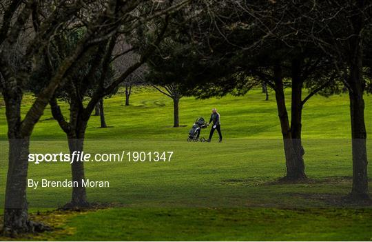Members of Craddockstown Golf Club enjoy golf while adhering to the guidelines of social distancing