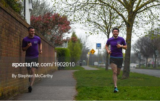 Mick Daly Runs 6k Every 5hrs in aid of Cystic Fibrosis Awareness Day