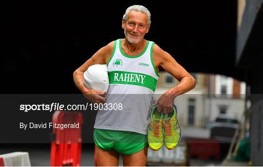 Dave Brady prepares for his 1,000th Marathon