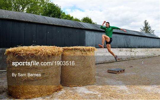Irish Long Jump athlete Shane Howard