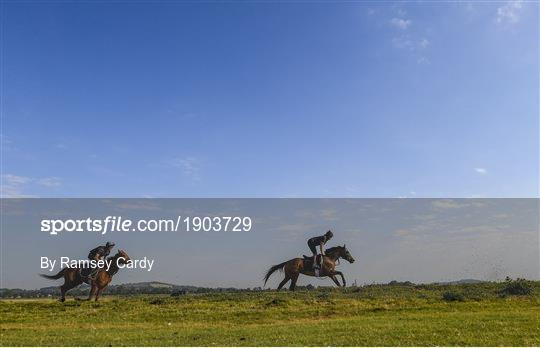Trainer Willie McCreery prepares for the resumption of Horse Racing in Ireland