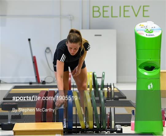 Chloe Mustaki Rehabilitation Session at Sport Ireland Institute