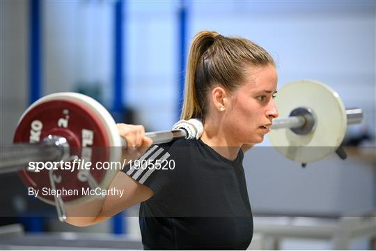 Chloe Mustaki Rehabilitation Session at Sport Ireland Institute