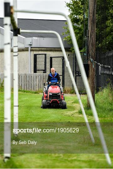 GAA open pitches for adult training