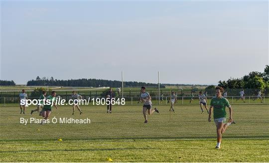 Moorefield Senior Football Squad Training Session