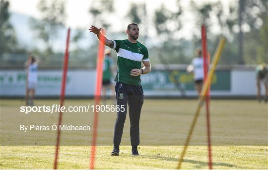 Moorefield Senior Football Squad Training Session