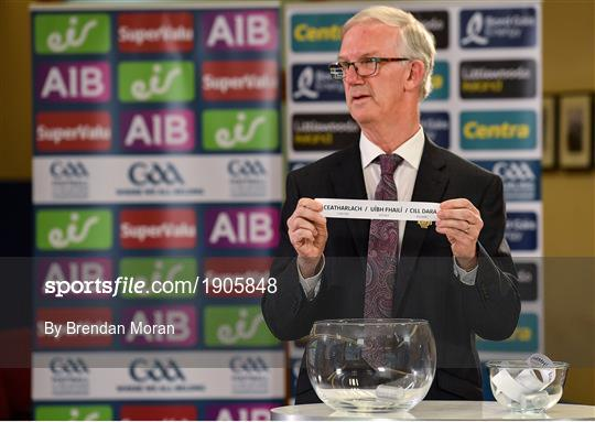 Munster and Leinster GAA Senior Championship Draws