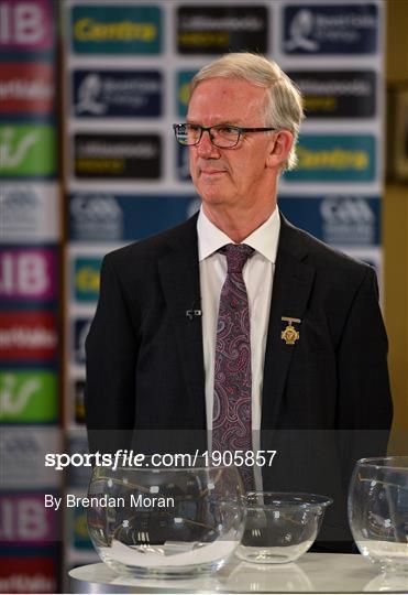 Munster and Leinster GAA Senior Championship Draws