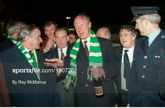 Former Republic of Ireland manager Jack Charlton 1935 - 2020