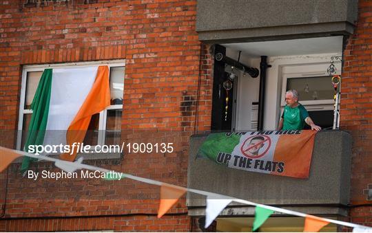 Republic of Ireland Supporters Remember Jack Charlton