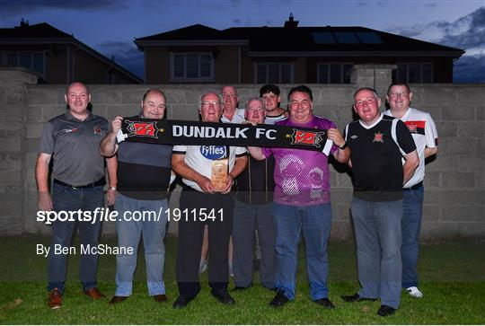 Dundalk Supporters Watch at Home