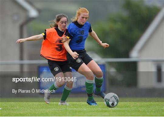 Republic of Ireland Women's Under-17 Training Camp