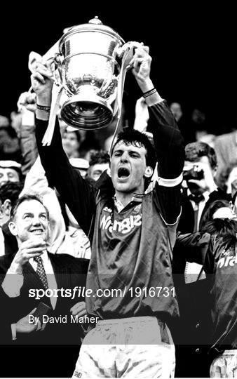 Galway United and Shamrock Rovers - 1991 FAI Cup Final