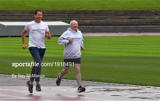 Launch of 'Gratitude Road' a walk from Ballyhaunis to Morton Stadium