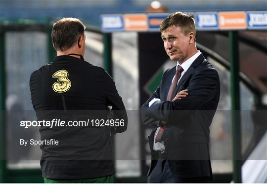 Bulgaria v Republic of Ireland - UEFA Nations League B