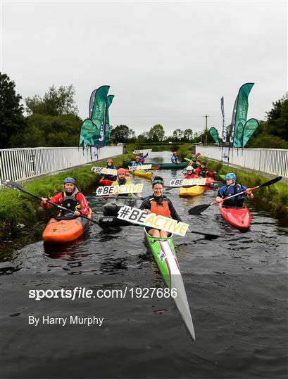 #BeActive Paddle day Launch