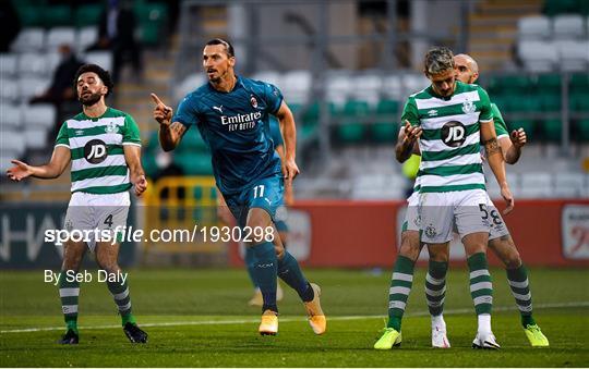 Shamrock Rovers v AC Milan - UEFA Europa League Second Qualifying Round