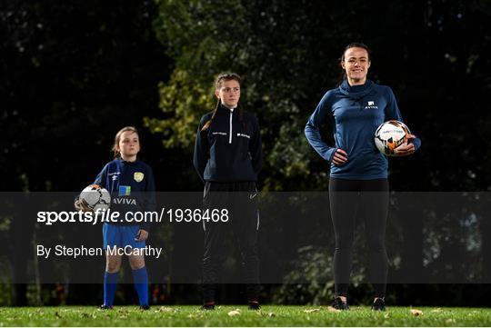 Irish Women's National Team Star Áine O'Gorman Launches Aviva Soccer Sisters Mid-Term Virtual Skills Hub