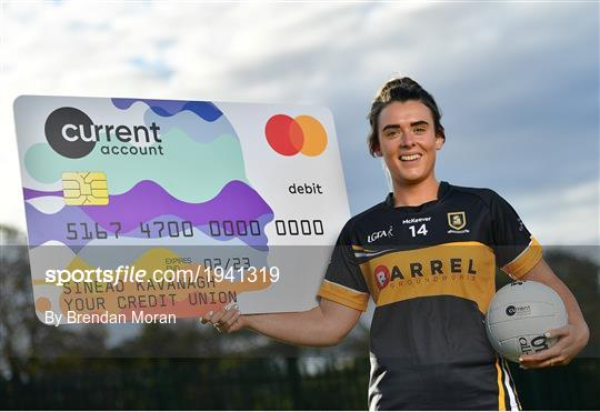 Cork captain Doireann O'Sullivan marks announcement of Currentaccount.ie as new sponsors of All-Ireland Ladies Club Football Championships
