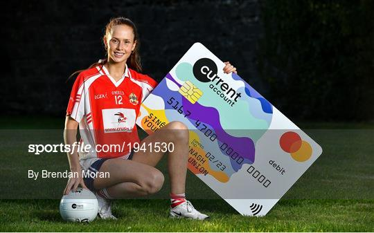 Galway star Olivia Divilly marks announcement of Currentaccount.ie as new sponsors of All-Ireland Ladies Club Football Championships