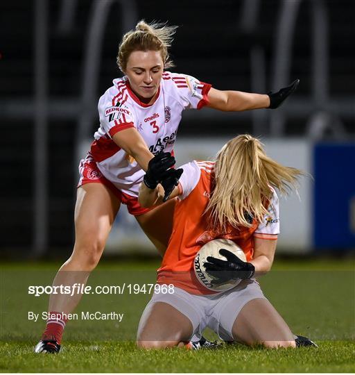 Tyrone v Armagh - TG4 All-Ireland Senior Ladies Football Championship Round 1